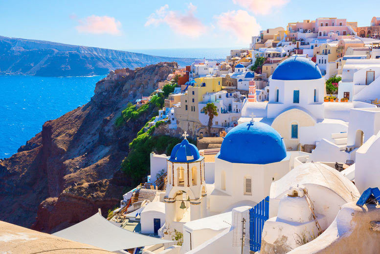 Self Catered Santorini Stay Greece Deals In Travel Wowcher
