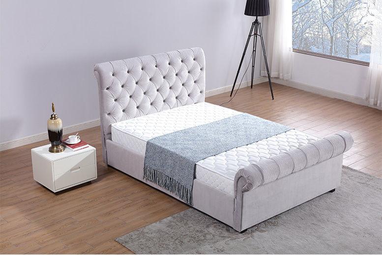 Enjoyable Chesterfield Velvet Ottoman Bed Shop Livingsocial Pdpeps Interior Chair Design Pdpepsorg