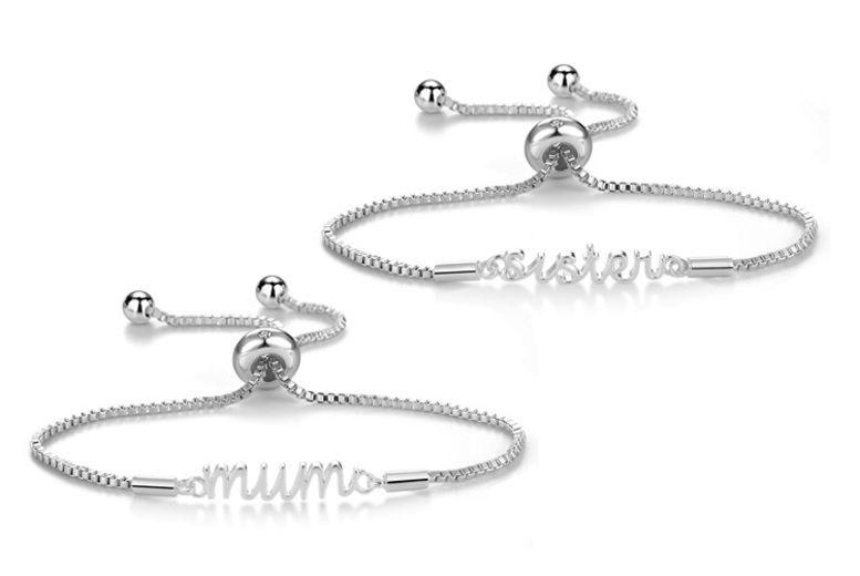 70ce0824e2f0f Philip Jones Text Bracelet | Bracelets deals in Shop | Wowcher