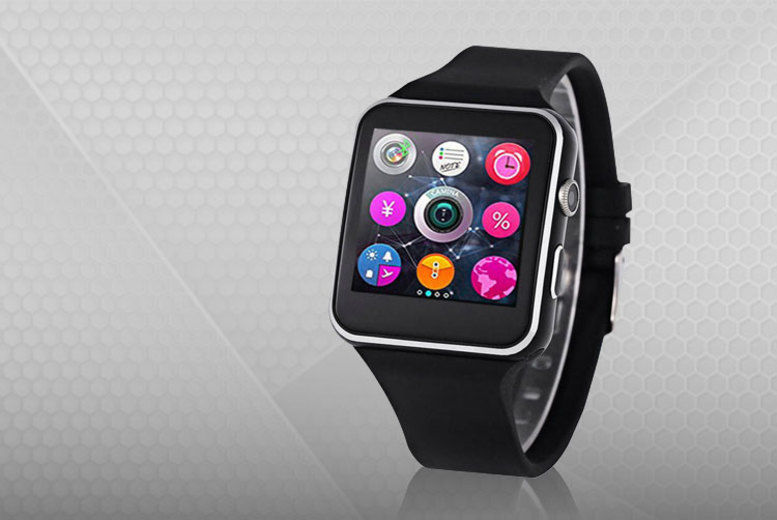 Fitstep A6 Smart Watch - Apple & Android Compatible!