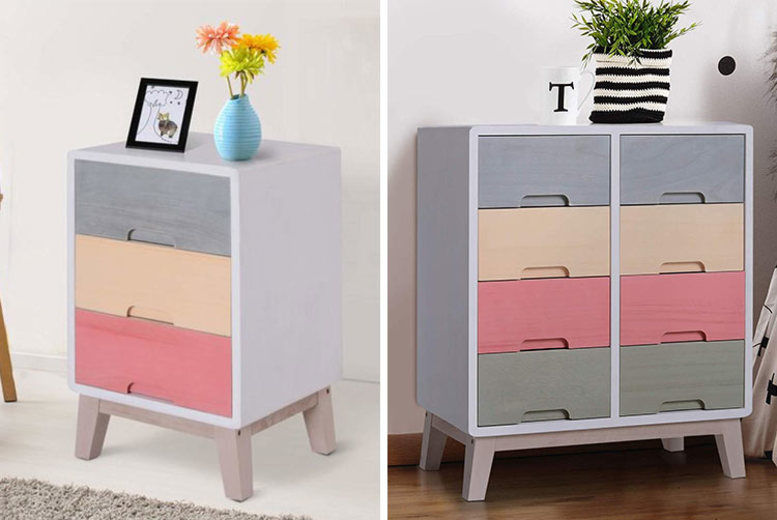 Rainbow Chest of Drawers – 2 Sizes!