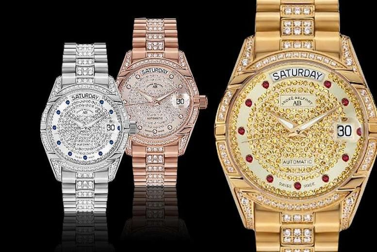 Andre Belfort Swiss-Made Automatic Movement Watch - 3 Colours!