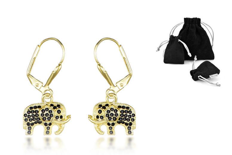 4d7bf4806 Philip Jones Elephant Drop Earrings | Earrings deals in Shop | Wowcher