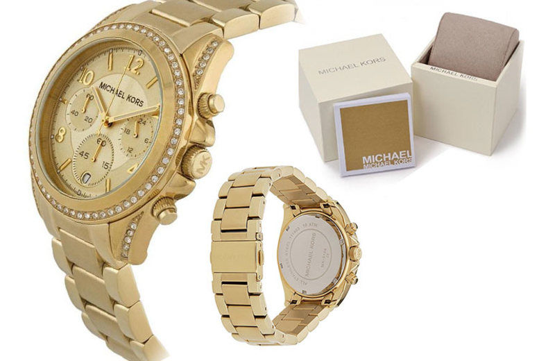 Ladies Michael Kors MK5166 Blair Gold Tone Watch