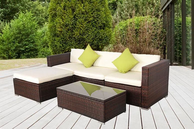 California Rattan Furniture Set – 2 Colours! (£339)