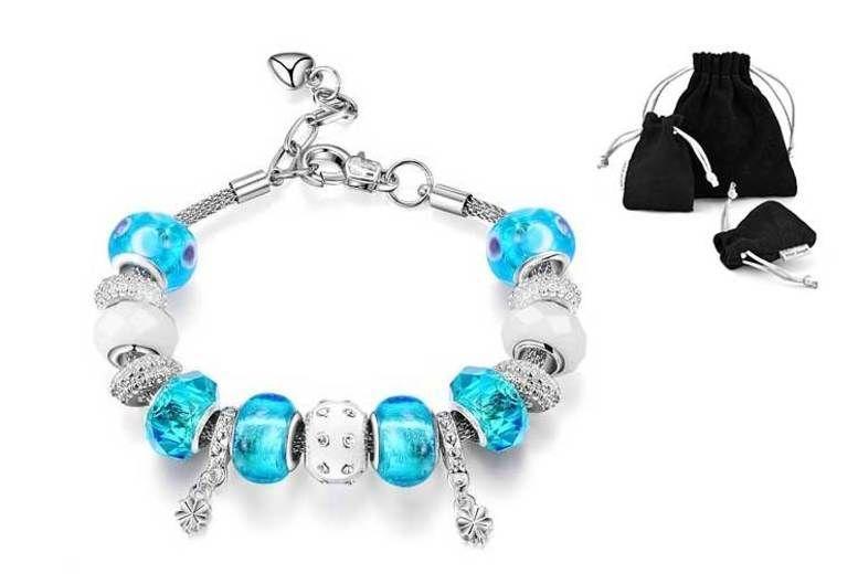 dae24d99841e3 Philip Jones Charm Bracelet | Bracelets deals in Shop | Wowcher