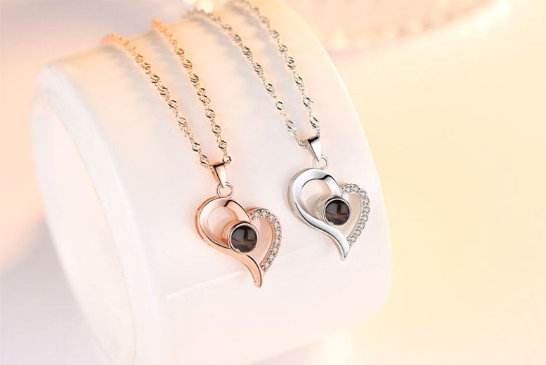 I Love You Necklace | Shop | Wowcher