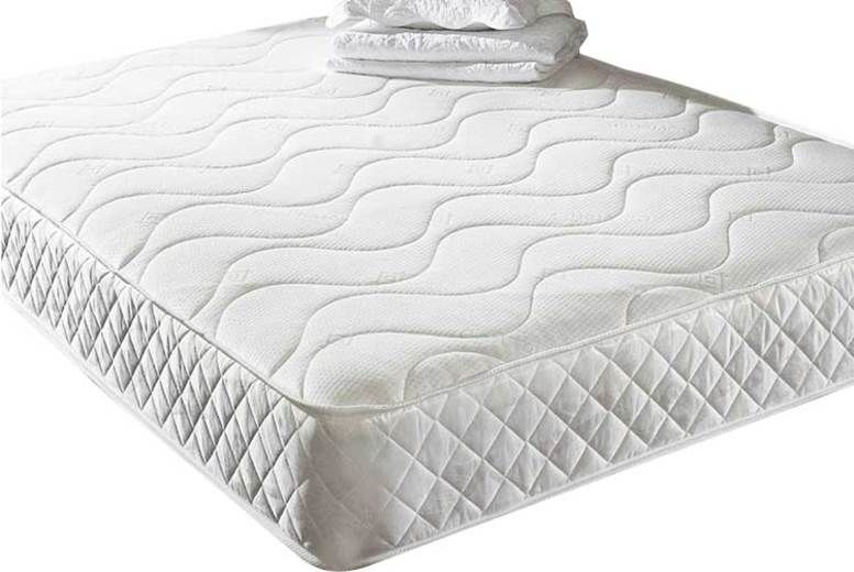 Memory Foam Quilted Mattress - 6 Sizes!