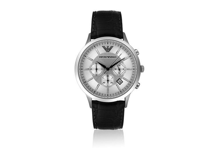 Emporio Armani Chronograph Watch - 2 Designs!