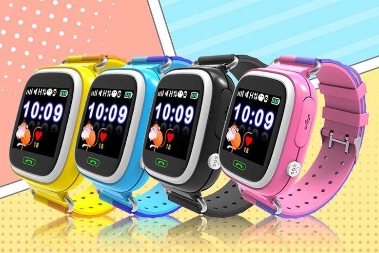 Q90 Kids' Smart Watch w/ GPS Tracker - 4 Colours!