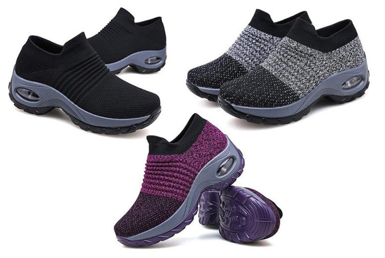 New Men Soft Cushioned Lace Up Running Gym Jogging Trainer UK Size 7-12