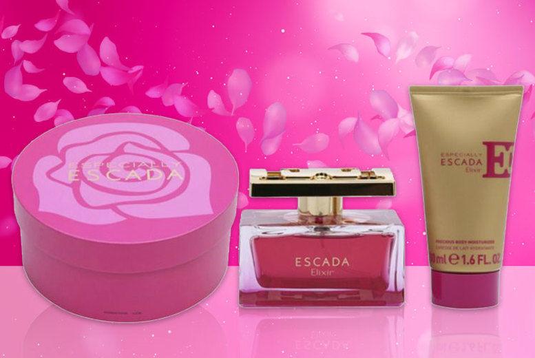 Especially Escada Elixir Set Perfumes Deals In Shop Wowcher