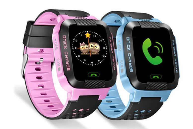 Child Safety GPS Tracker Smart Watch - 2 Colours!