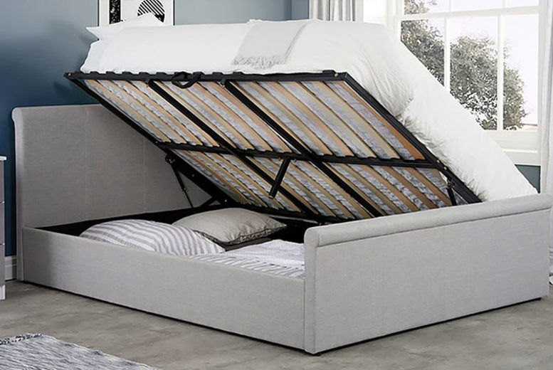 Side Lift Ottoman Double Bed with optional mattress!