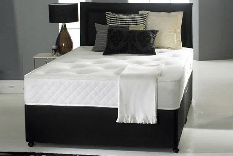 Radley Divan Bed with Memory Spring Mattress, Headboard & Drawer Options (from £79)