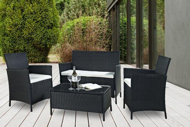 Phenomenal Garden Furniture Garden Shopping Deals Wowcher Bralicious Painted Fabric Chair Ideas Braliciousco