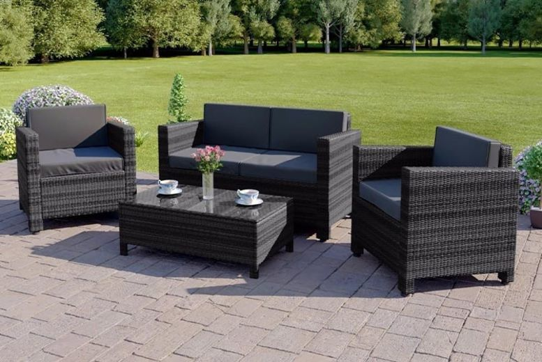 Rattan Outdoor Sofa Set - 3 Colours!