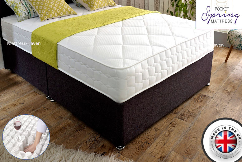 Cool Flex 3000 Pocket Spring Memory Foam Mattress