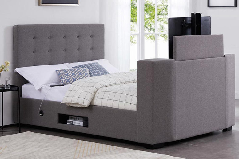 Magnum TV Bed with an optional mattress – 2 Sizes!