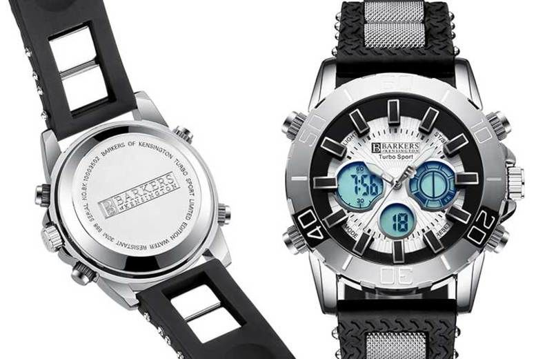 Barkers of Kensington Turbo Sport Watch