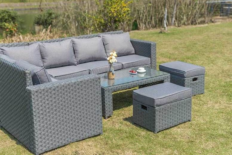 Wondrous Garden Furniture Garden Shopping Deals Wowcher Interior Design Ideas Gentotryabchikinfo