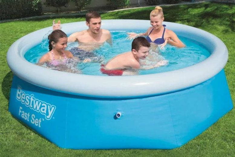 Outdoor Easy Set Swimming Pool   Shop   Wowcher