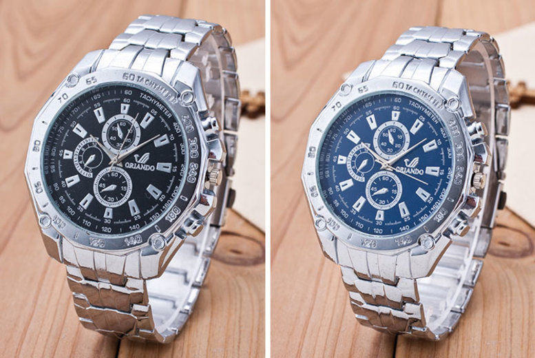 Men's Luxury Oriando Watch - 4 Colours!