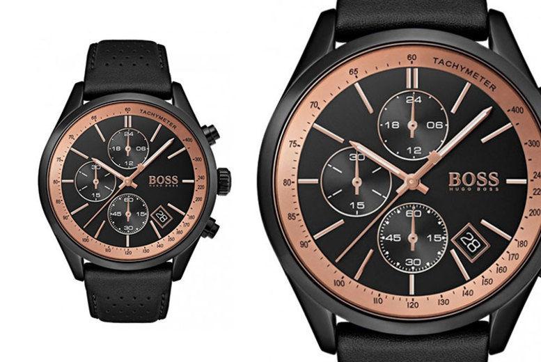Men's HB1513550 Hugo Boss Grand Prix Watch