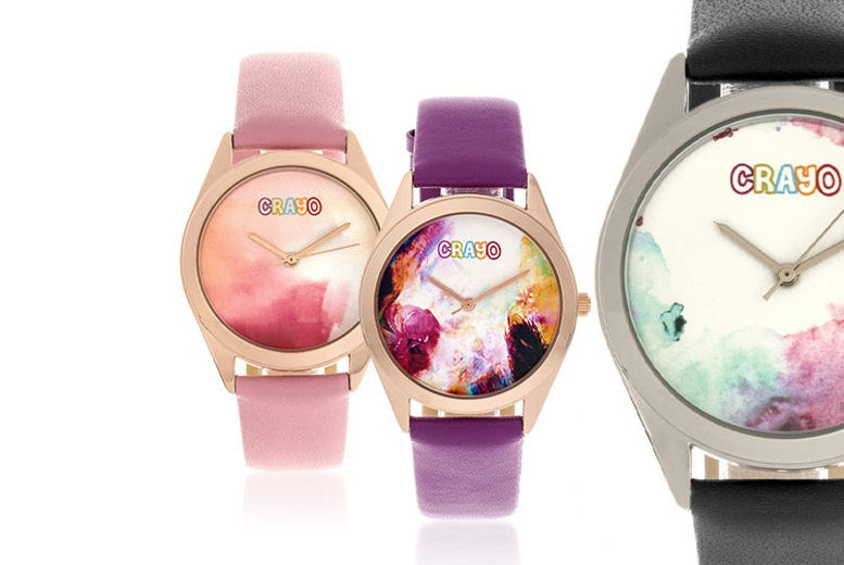 Crayo Graffiti Ladies' Watch