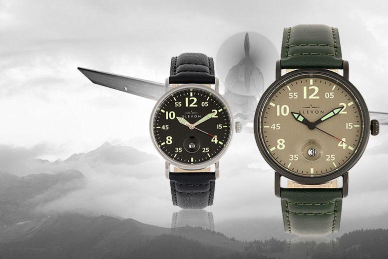 Men's Elevon Pilot Watch - 5 Designs!