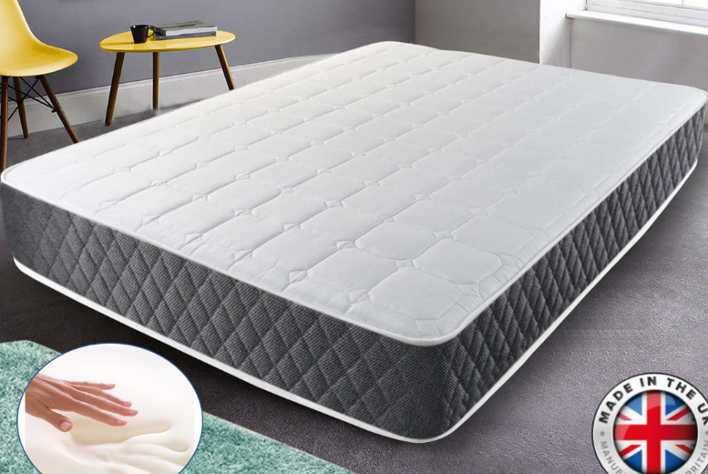 Deluxe Crysten Memory Foam Mattress - 4 Sizes!