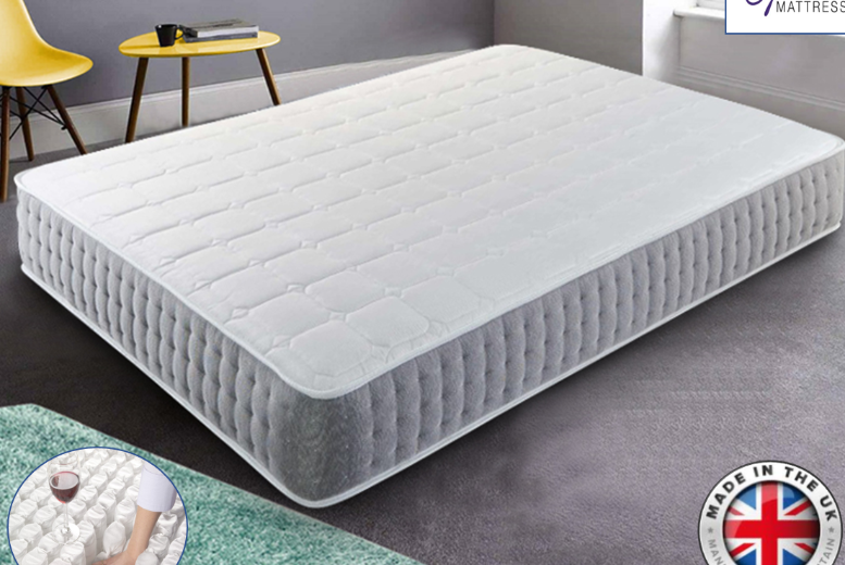 3000 Pocket Spring Mattress – 4 Sizes! (from £169)