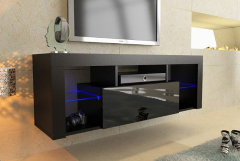 TV Unit with LED Lights - 2 Colours & 2 Sizes!