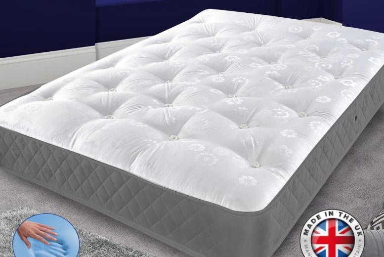 Arcadian Tuffted Memory Foam Mattress - 4 Sizes!