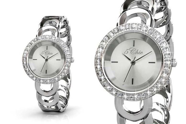 Destiny Watch made with Crystals from Swarovski ® - 2 Designs!