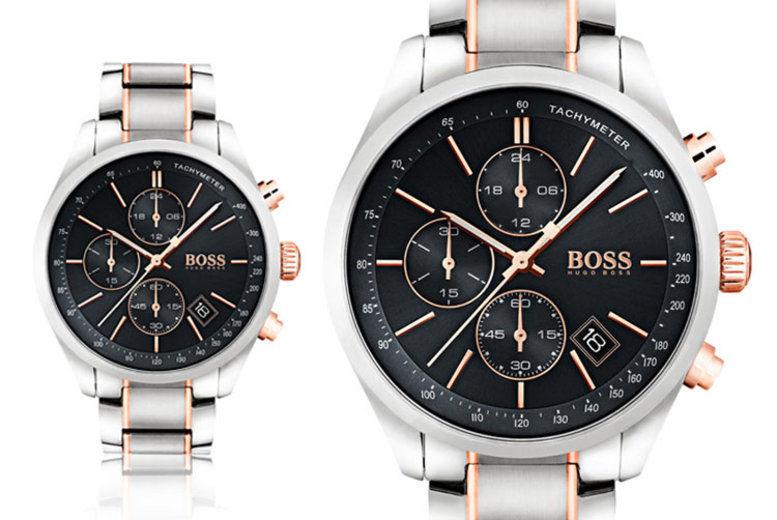 Men's HB1513473 Hugo Boss Grand Prix Watch