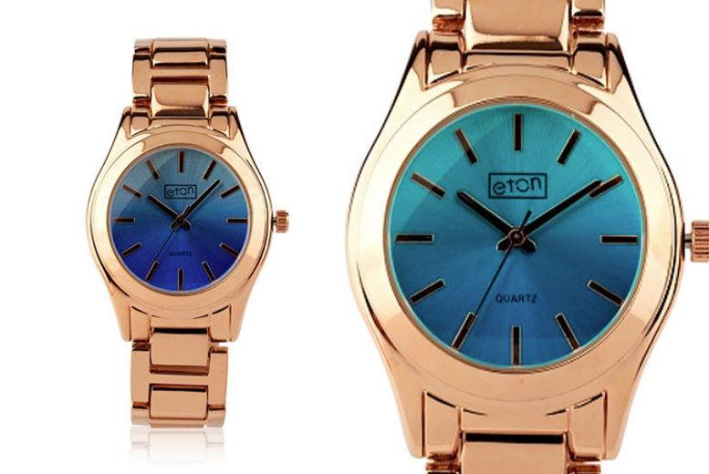 Rose Gold-Toned Bracelet Watch - 2 Dial Colours!