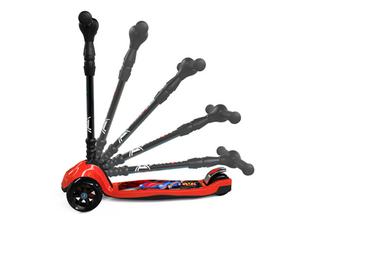 Three Wheel LED Scooter – 2 Colours! (£23.99)