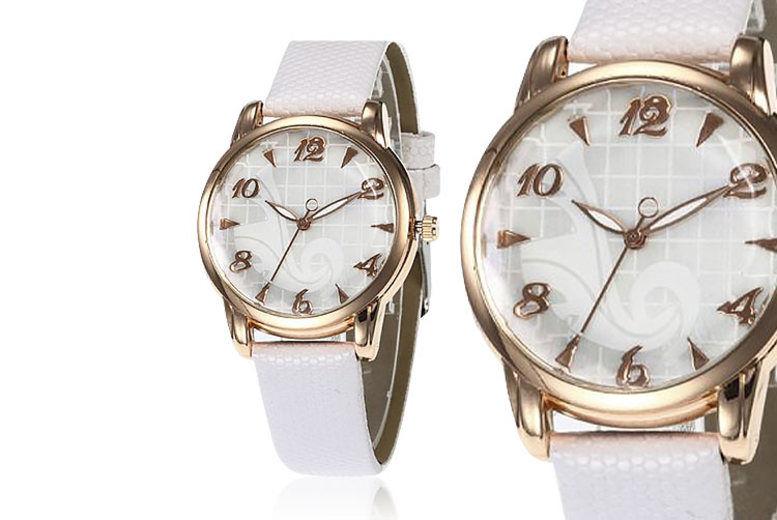Ladies' Personalised Engraved Wristwatch