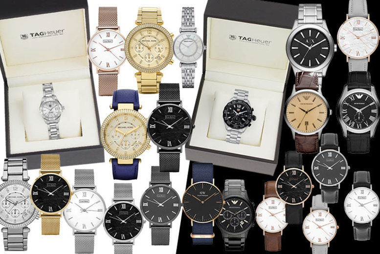 Luxury Mystery Watch Deal - Tag Heuer, Armani, MK, L Henry & More!