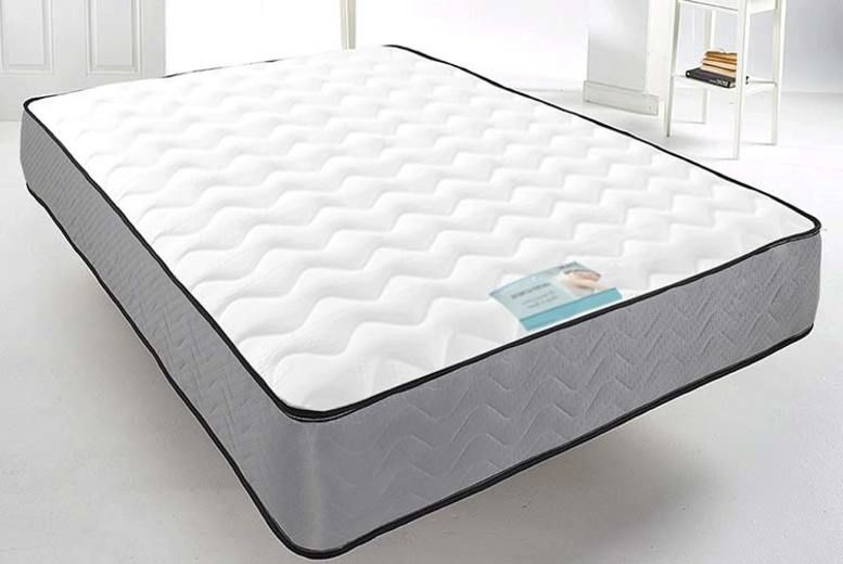Grey Cool Blue Memory Foam Mattress – 6 Sizes (from £41)