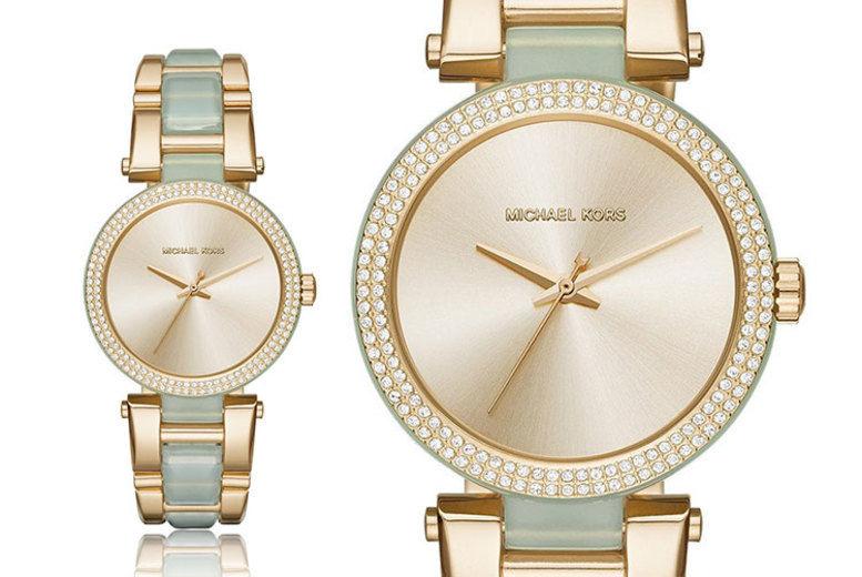 Michael Kors Ladies' Two-tone Watch