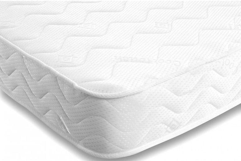 Comfy Memory Foam Sprung Mattress - 6 Sizes!