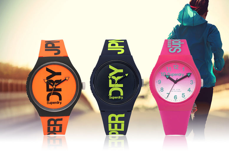 Unisex Superdry Sports-Style Watches - 3 Styles!