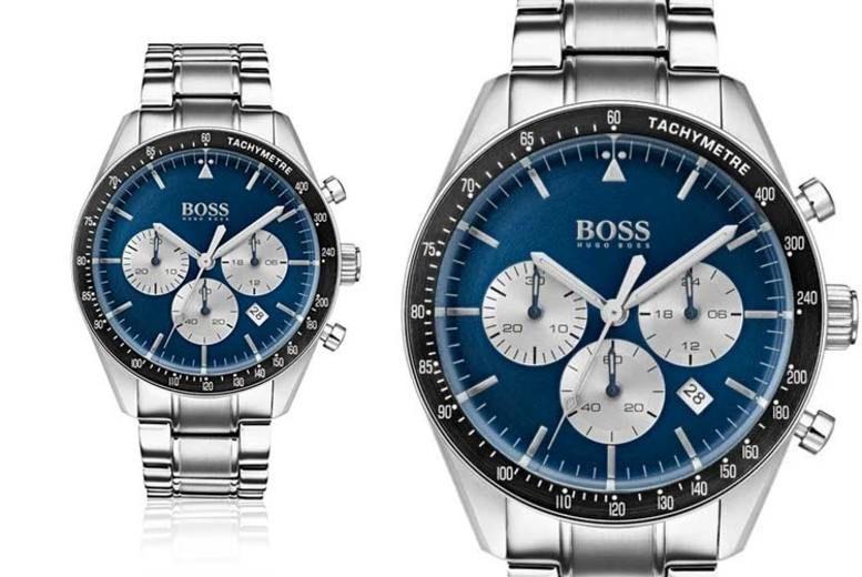Hugo Boss Blue Dial Chronograph Watch