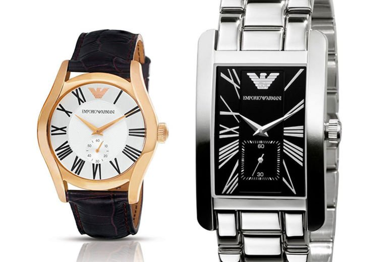 Emporio Armani His or Her Watches - 4 Designs!