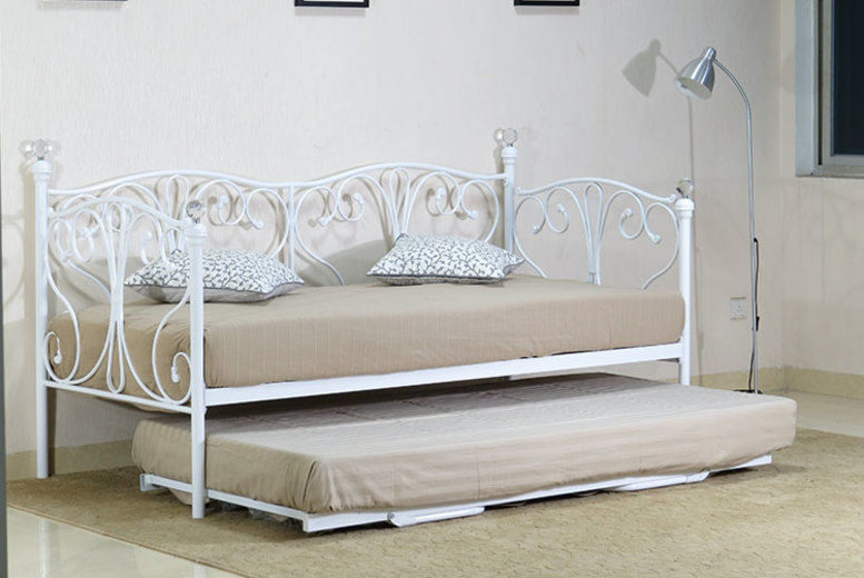 Olivia Daybed w/ Trundle & Mattress Options - 2 Sizes & 2 Colours!