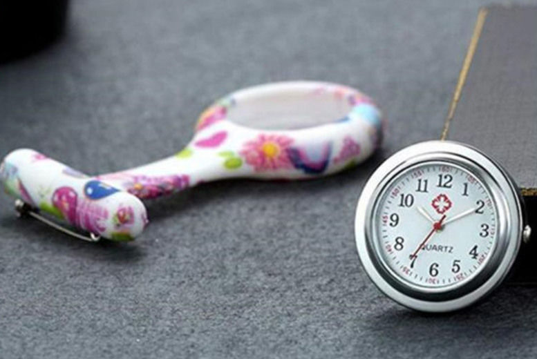 Pin-On Nurse Watch – 9 Designs!