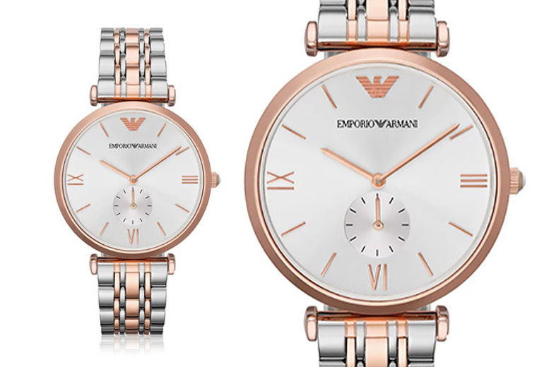 Men's Emporio Armani AR1677 Two-Tone Watch