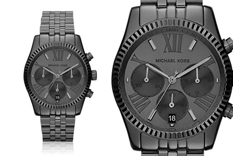 Ladies' Black Michael Kors MK5709 Chronograph Watch